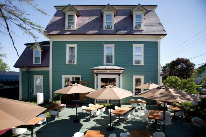 Le Pleasant, hotel et restaurant avec terrasse