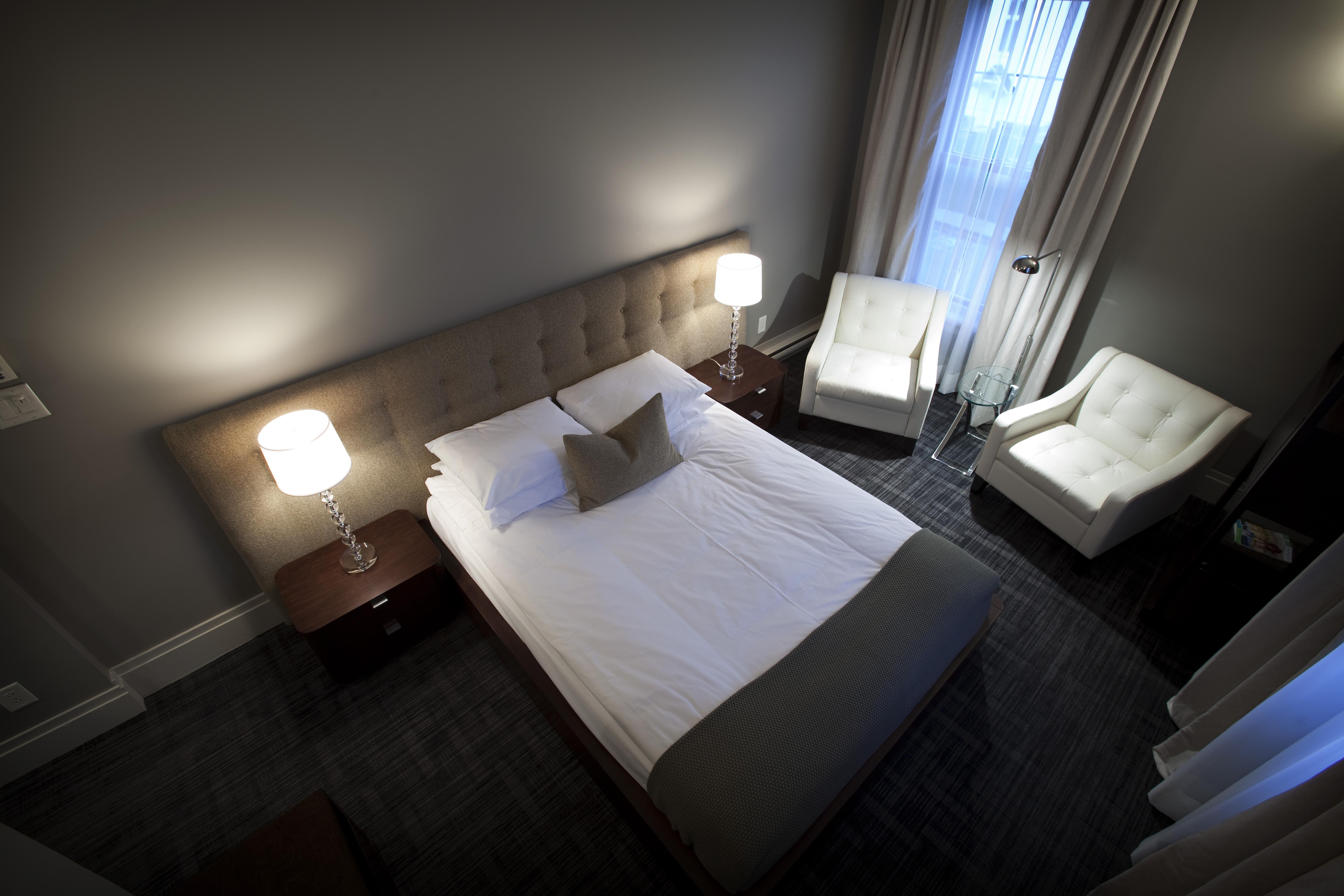 Superieure vue haut le pleasant hotel caf sutton Table vue de haut